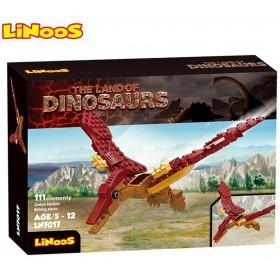 Stavebnice LiNooS Dino Land, Pterodaktyl