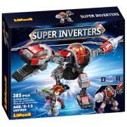 Stavebnica LiNooS Super Inverters Robot Dinosaurus LN7009