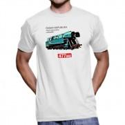 Trička s lokomotivou
