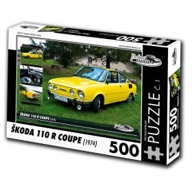 Puzzle 01 - Škoda 110R Coupe, 500 dílků