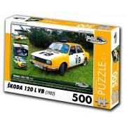 Puzzle 03 - ŠKODA 120L VB, 500 dílků
