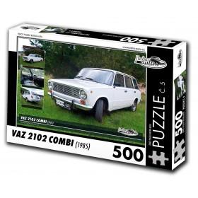 Puzzle 04 - VAZ 2102 COMBI, 500 dílků