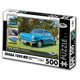 Škoda 1000 MB, 500 dielikov, puzzle 07