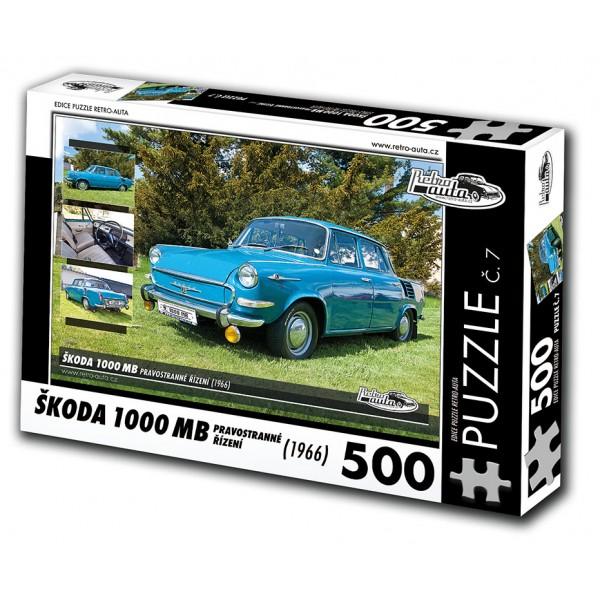 Škoda 1000 MB, 500 dílků, puzzle 07
