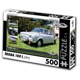 Škoda 100 L, 500 dílků, puzzle 08