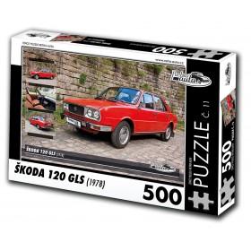 Škoda 120 GLS, 500 dílků, puzzle 11