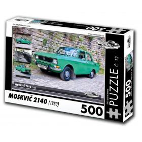 Moskvič 2140, 500 dílků, puzzle 12