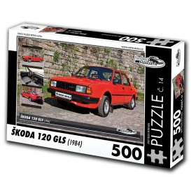 Škoda 120 GLS, 500 dílků, puzzle 13