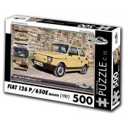 FIAT 126 P/650E Maluch, 500 dílků, puzzle 15