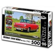 Škoda 1000 MBG, 500 dílků, puzzle 22