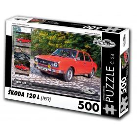 Škoda 120 L, 500 dílků, puzzle 24