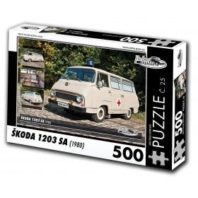 Škoda 1203 SA, 500 dílků, puzzle 25