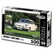 Škoda 1000 MB, 500 dílků, puzzle 27