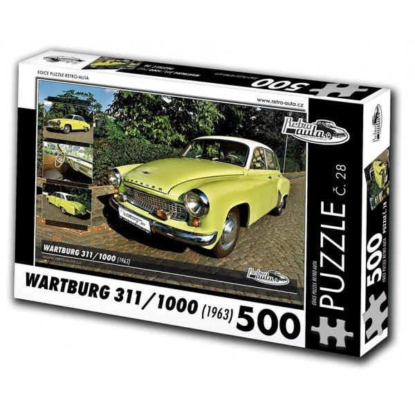 Wartburg 311/1000, 500 dílků, puzzle 28