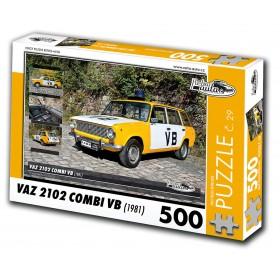 VAZ 2102 Combi VB, 500 dílků, puzzle 29