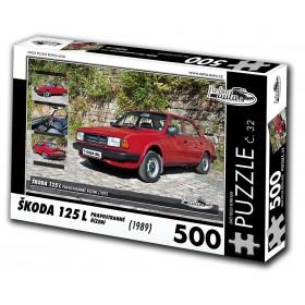 Škoda 125 L, 500 dílků, puzzle 32