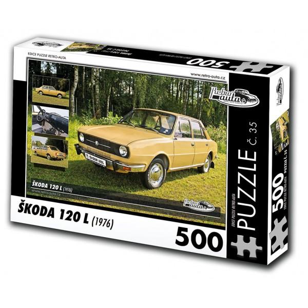 Škoda 120 L, 500 dílků, puzzle 35