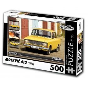 Moskvič 412, 500 dílků, puzzle 36