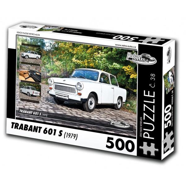 Trabant 601 S, 500 dílků, puzzle 38