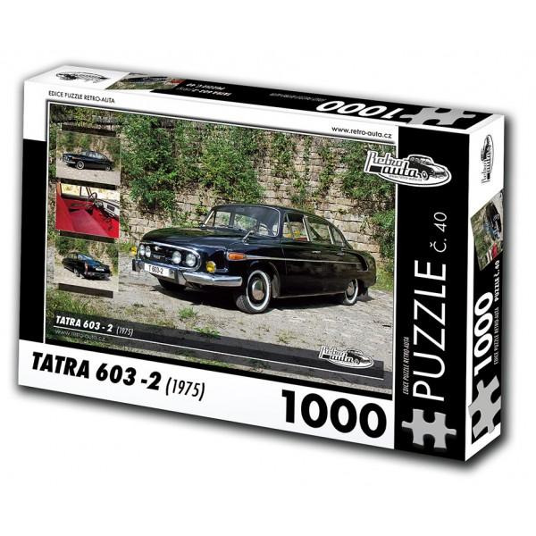 Tatra 603 - 2, 1000 dílků, puzzle 40
