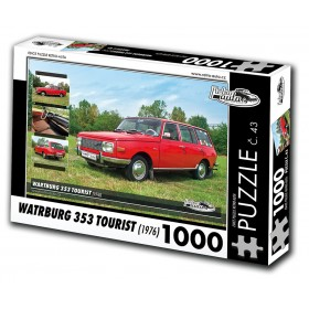 Wartburg 353 Tourist, 1000 dílků, puzzle 43
