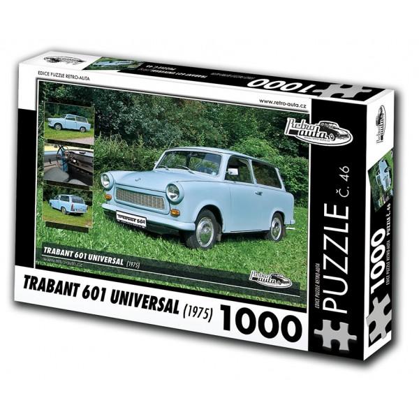Trabant 601 Universal, 1000 dílků, puzzle 46