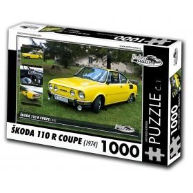 Škoda 110R Coupe, 1000 dílků, puzzle 01