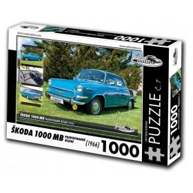 Škoda 1000 MB, 1000 dílků, puzzle 07