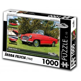 Škoda Felicia, 1000 dílků, puzzle 10