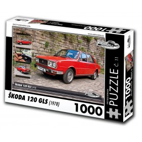 Škoda 120 GLS, 1000 dílků, puzzle 11