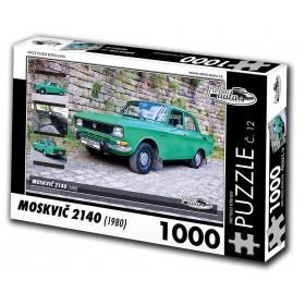 Moskvič 2140, 1000 dílků, puzzle 12