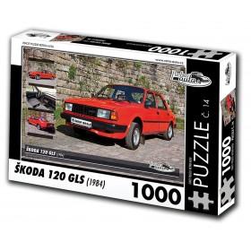Škoda 120 GLS, 500 dílků, puzzle 14