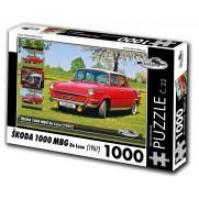 Škoda 1000 MBG De Luxe, 1000 dílků, puzzle 22