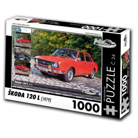 Škoda 120 L, 1000 dílků, puzzle 24