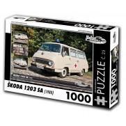Škoda 1203 SA, 1000 dílků, puzzle 25