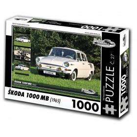 Škoda 1000 MB, 1000 dílků, puzzle 27