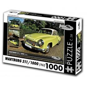 Wartburg 311/1000, 1000 dílků, puzzle 28