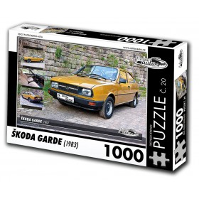 Škoda Garde, 1000 dílků, puzzle 20