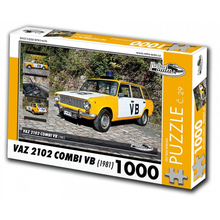 VAZ 2102 Combi VB, 1000 dílků, puzzle 29