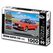 Škoda Rapid 130, 1000 dílků, puzzle 30