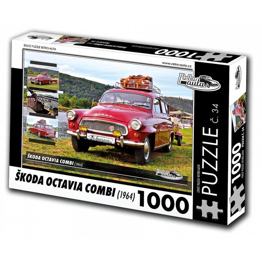 Škoda Octavia Combi, 1000 dílků, puzzle 34