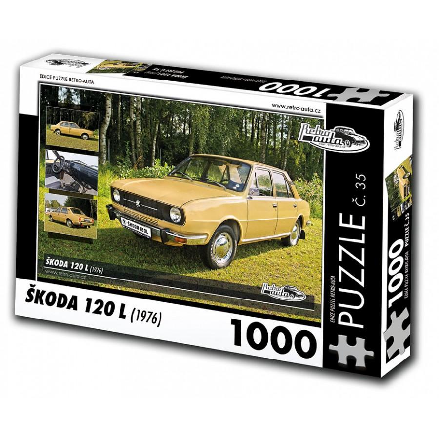 Škoda 120 L, 1000 dílků, puzzle 35