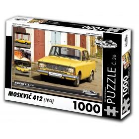 Moskvič 412, 1000 dílků, puzzle 36