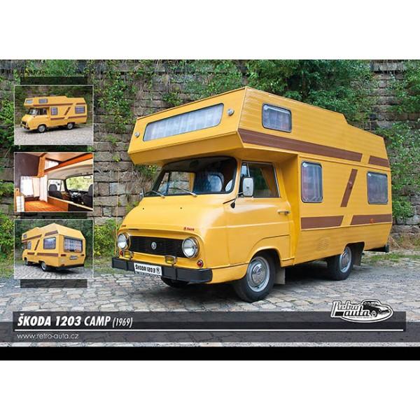 Škoda 1203 Camp, 1000 dílků, puzzle 44 - foto