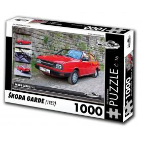 Škoda Garde, 1000 dílků, puzzle 16