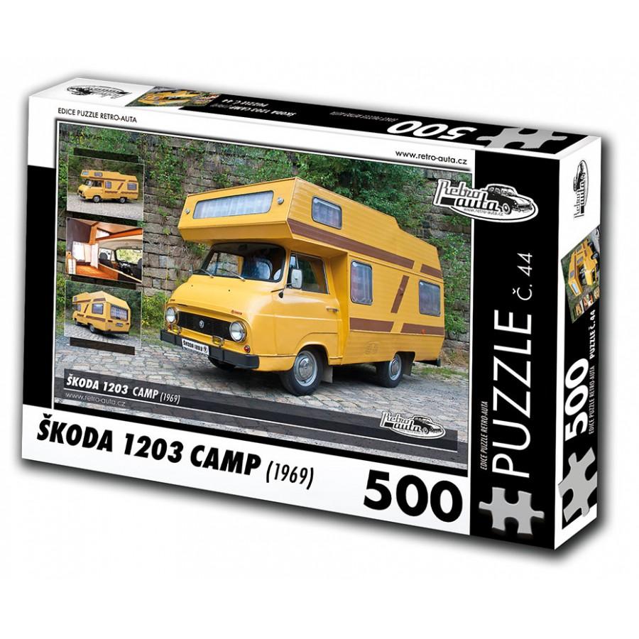 Škoda 1203 Camp, 500 dílků, puzzle 44