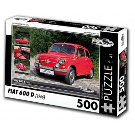 FIAT 600 D, 500 dílků, puzzle 41
