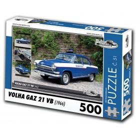 Volha GAZ 21 VB, 500 dílků, puzzle 51