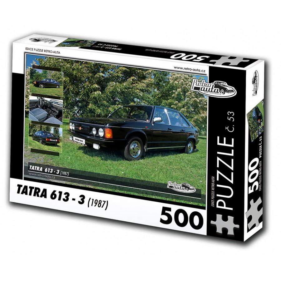 Tatra 613 - 3, 500 dílků, puzzle 53
