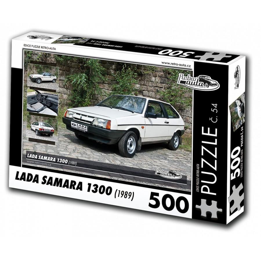 Lada Samara, 500 dílků, puzzle 54